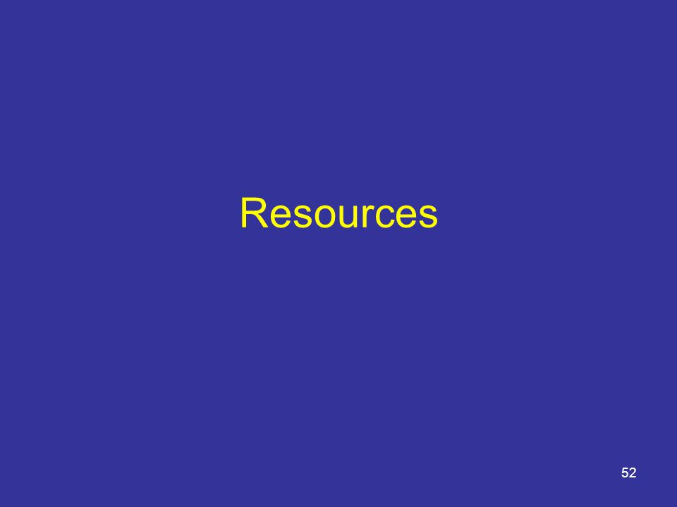 Resources 52