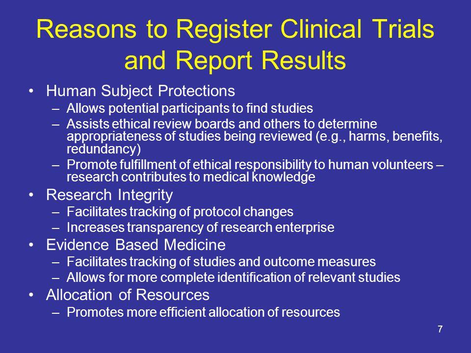 58 http://prsinfo.clinicaltrials.gov/fdaaa.html Screen shot of ClinicalTrials.gov Protocol Registration System