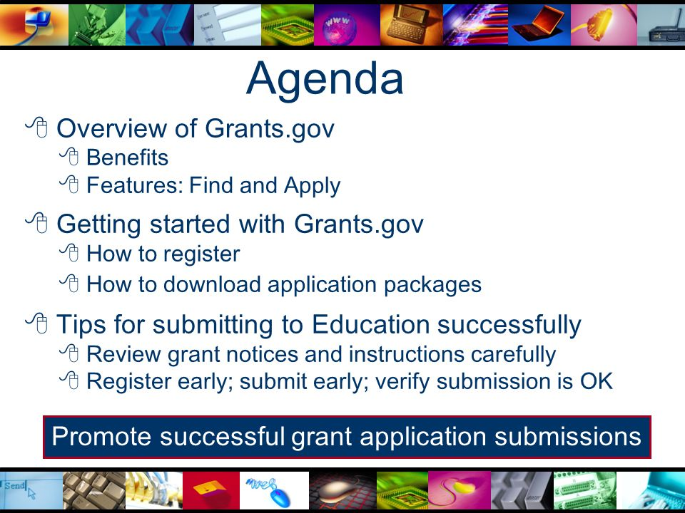 Click Download a Grant Application Package.