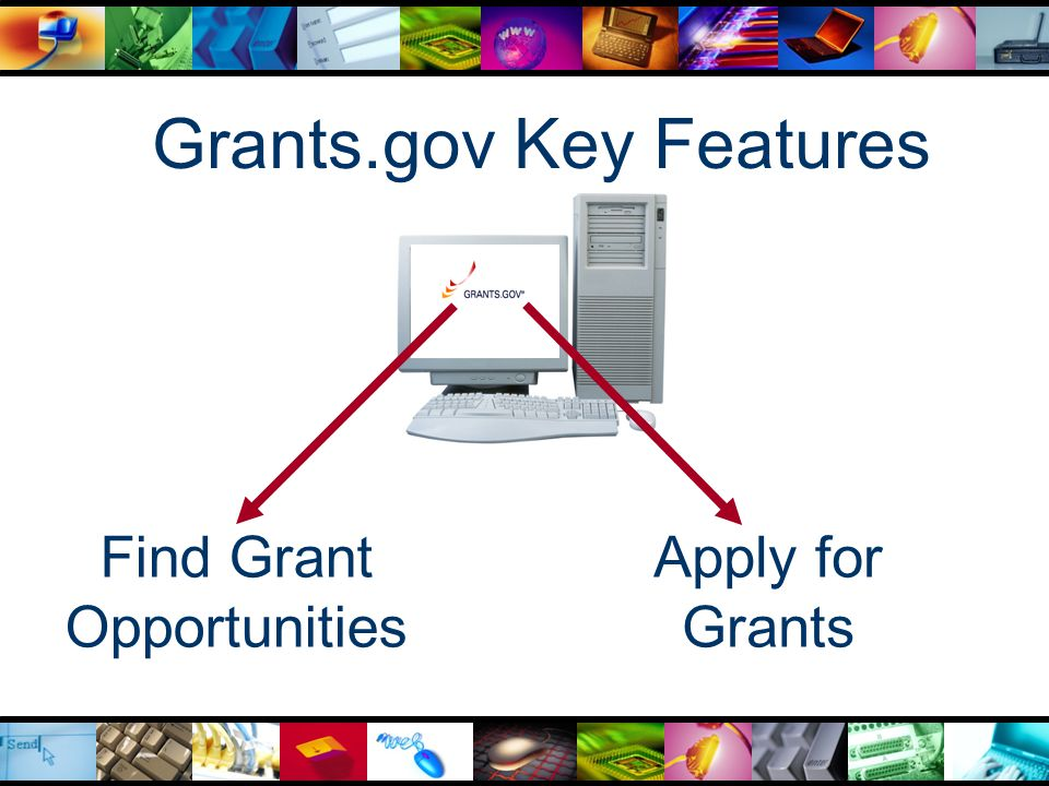 Finding Grant Opportunities Find — A single source for finding grant opportunities, helping applicants locate and learn more about funding opportunities in a standardized manner  Sign up for relevant e-mail notification of opportunities  Search for Dept.
