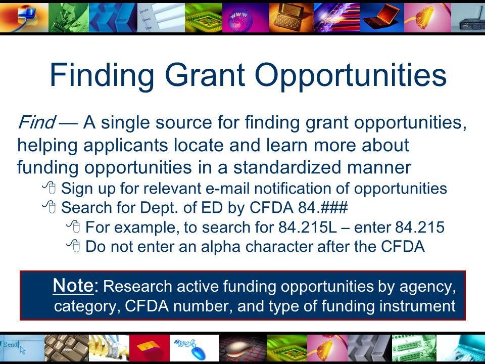 Grants.gov Application Package Screen