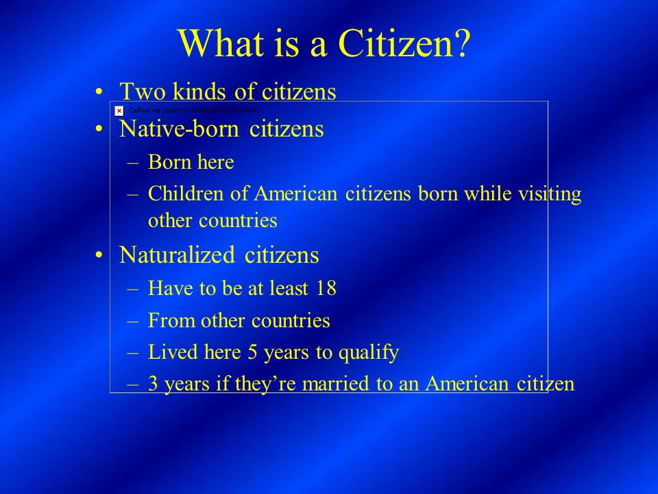 What is a Citizen.