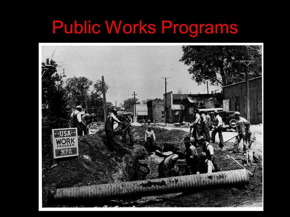 Public Works Programs