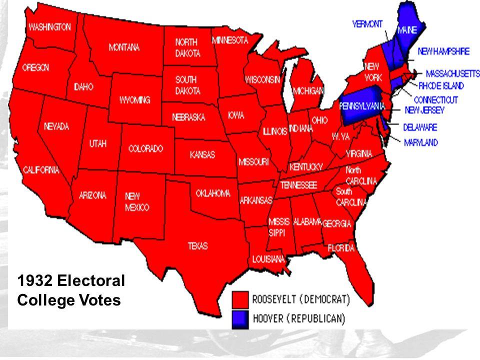 1932 Electoral College Votes