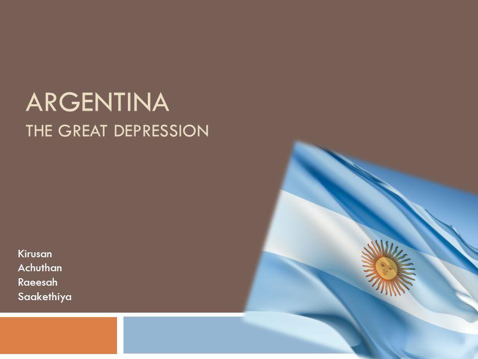 BACKGROUND INFORMATION Argentina