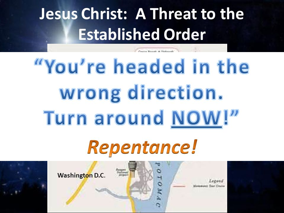 Jesus Christ: A Threat to the Established Order 1.We like Christmas Story to be all warm and fuzzy; 2.Epiphany tells another story; 3.We Christians kn