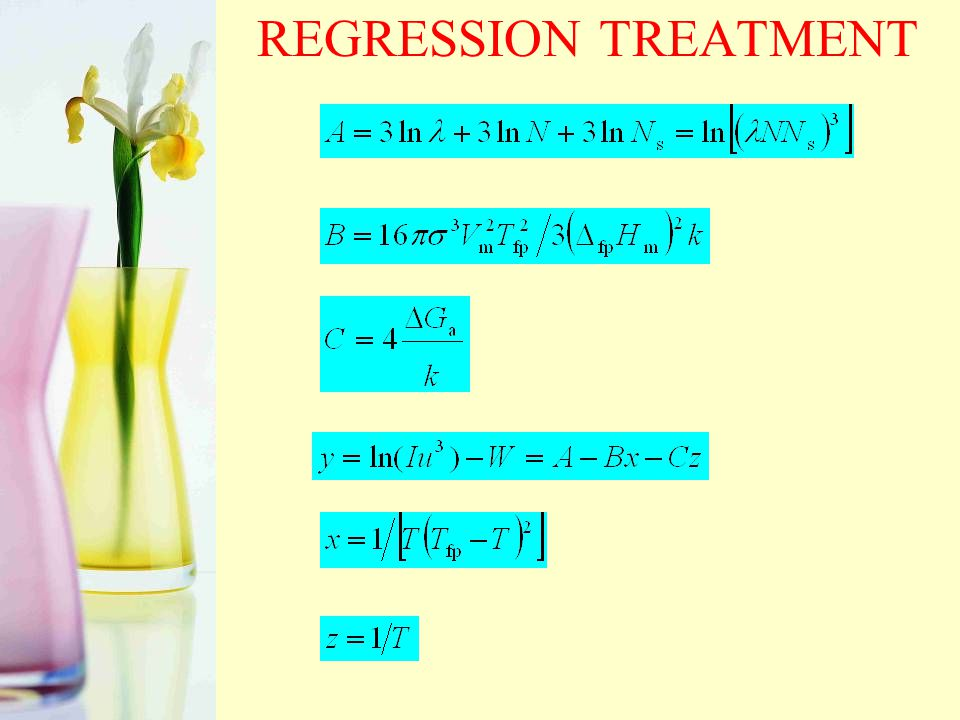 REGRESSION TREATMENT