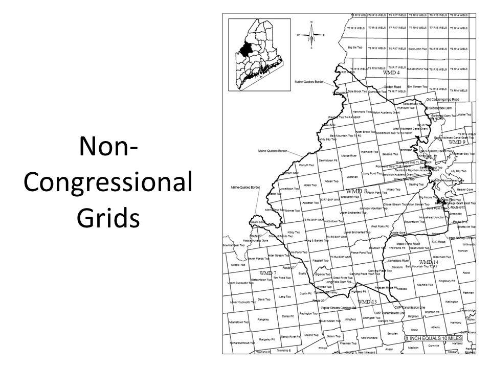 Non- Congressional Grids