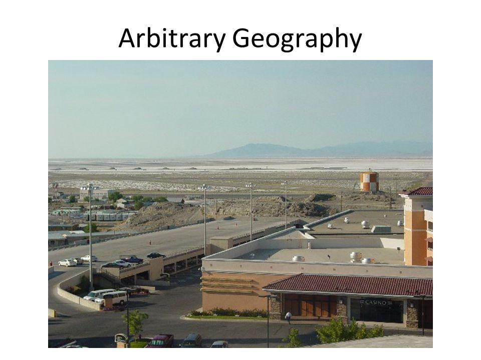 Arbitrary Geography