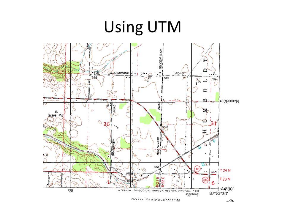 Using UTM