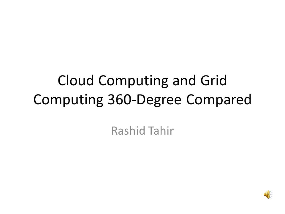 Programming Model CLOUDGRID Most common parallel programming model is MapReduce Standard parallel programming models are also used Scripting is used in place of workflow management systems Clouds have generally adopted Web Services APIs for providing services over the web.