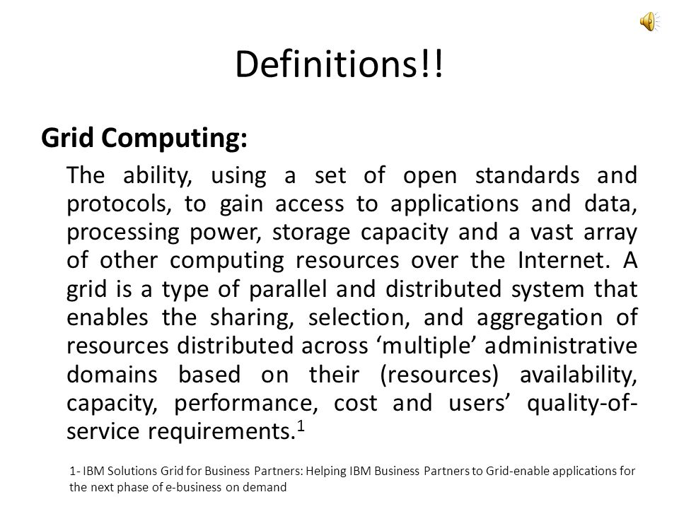Conclusion Clouds and Grids share a common vision and have overlapping architecture, technology and application space.