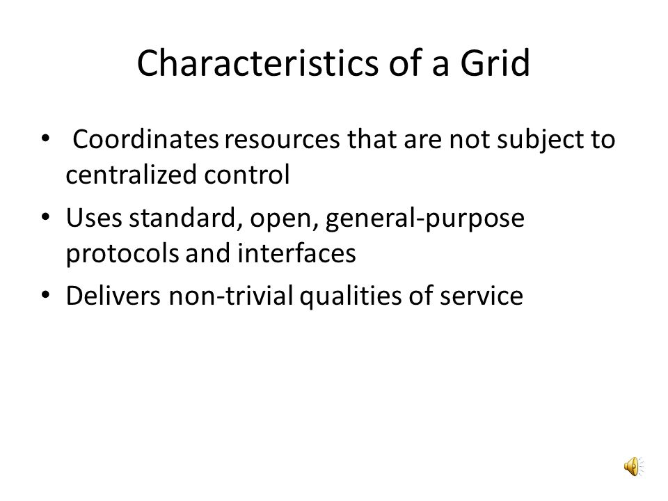 Architecture Grids vsClouds