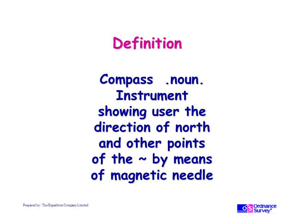 Definition Compass.noun.