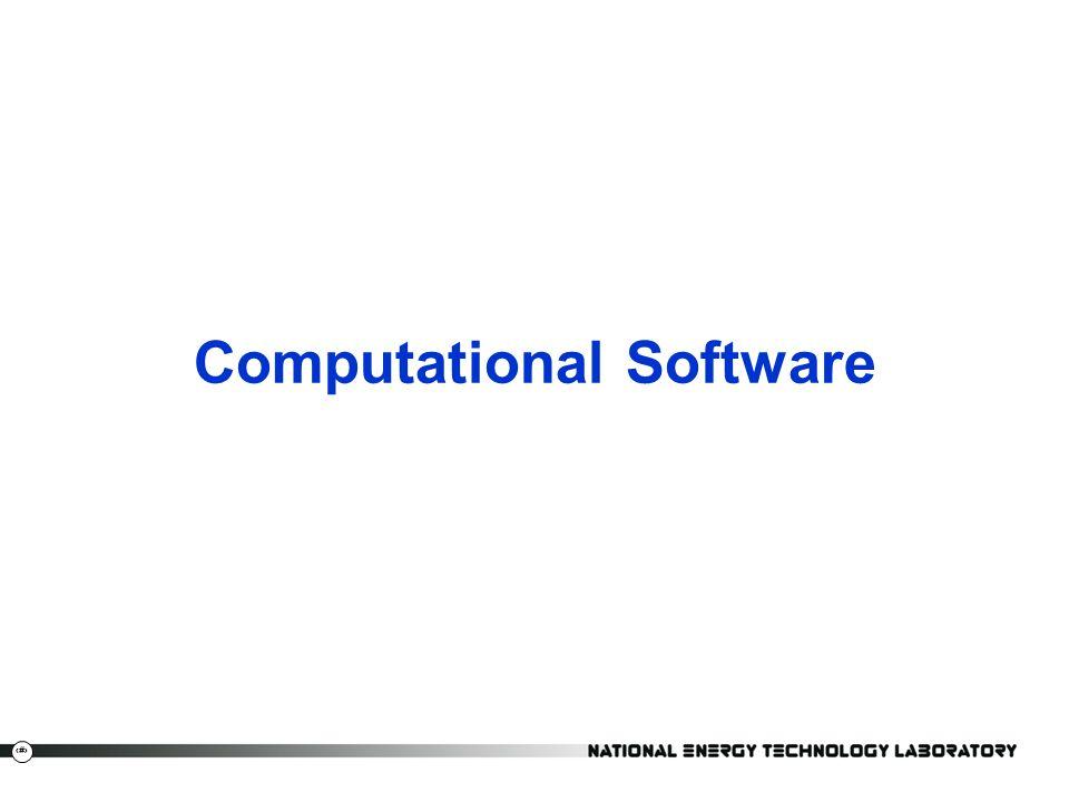 24 Computational Software