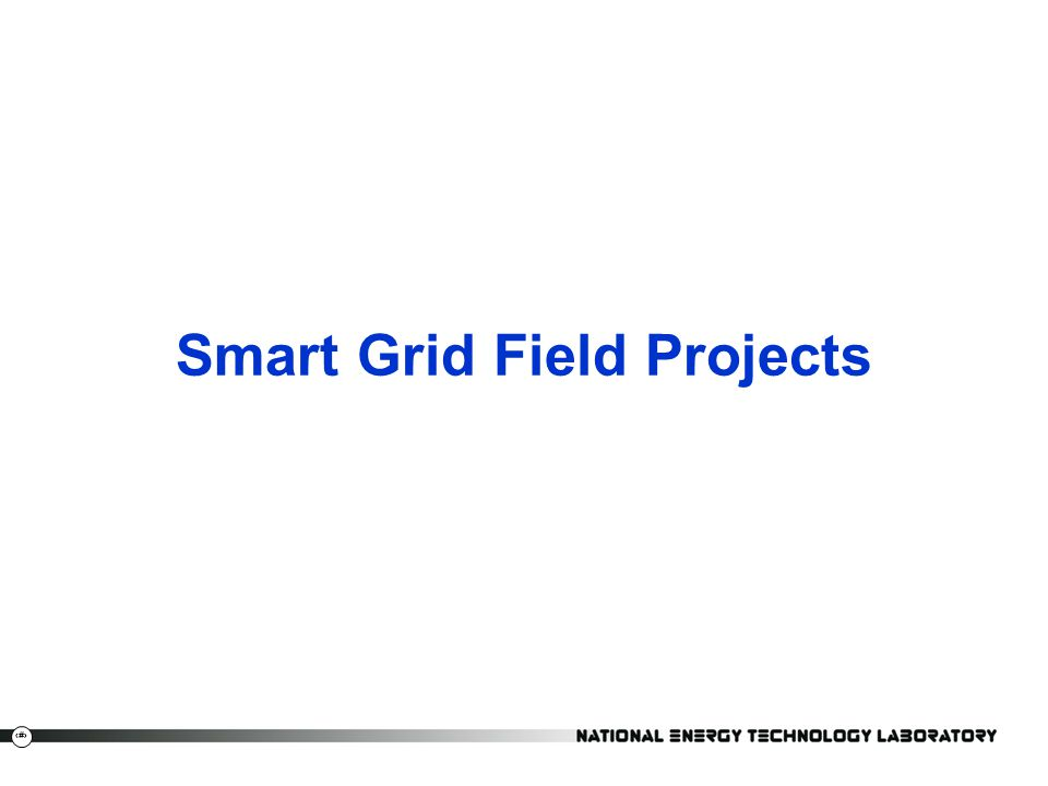 5  ARRA provided $4.3B for DOE Smart Grid projects; $9.8B with cost share  Smart Grid Demonstration Program (SGDP) (32) –Smart Grid Regional Demonstrations (16) –Energy Storage Demonstrations (16)  Renewable and Distributed Systems Integration (RDSI) Demonstrations (9)  Smart Grid Investment Grant Program (SGIG) (99)  Equipment Manufacturing (2)  Customer Systems (5)  Advanced Metering Infrastructure (30)  Electric Distribution Systems (13)  Electric Transmission Systems (10)  Integrated and/or Crosscutting Systems (39)  EPRI Smart Grid Demonstration Projects (12)  Private Sector