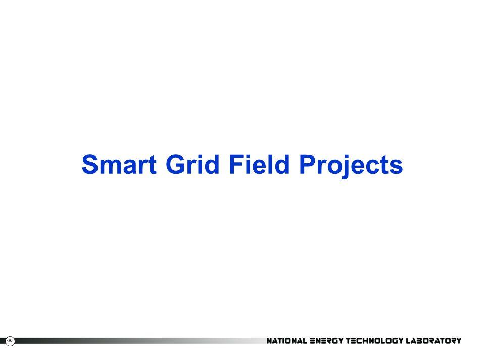 4 Smart Grid Field Projects