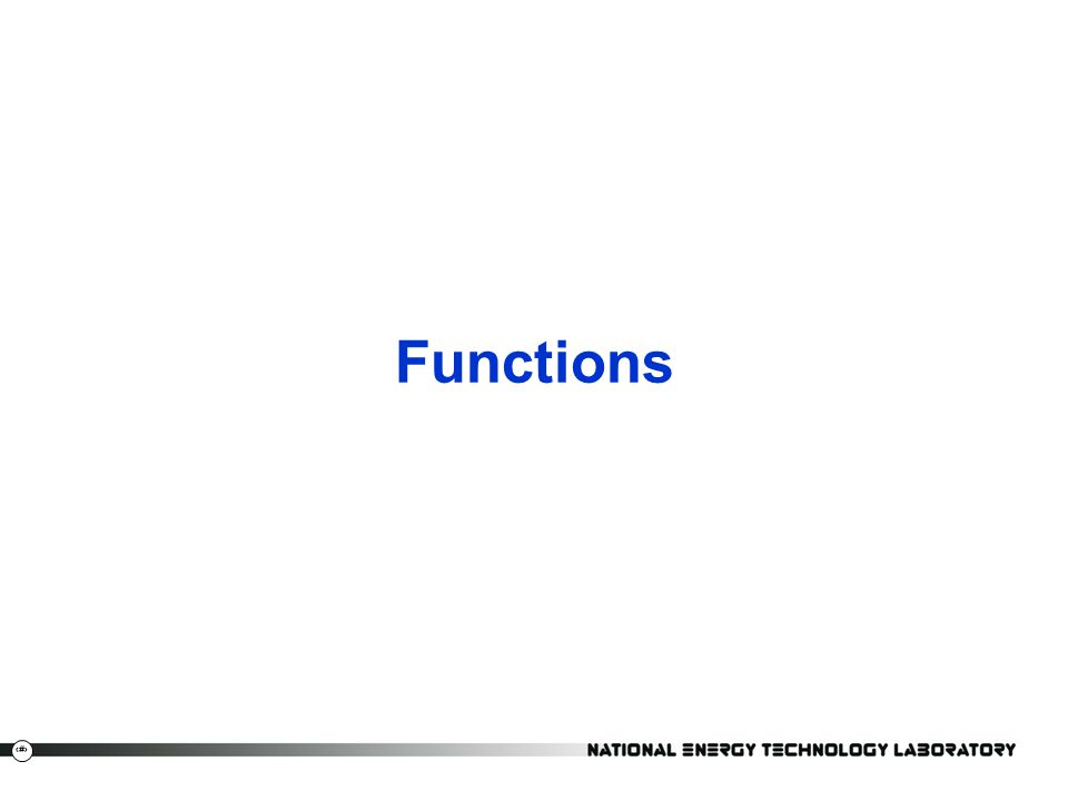 7 Functions