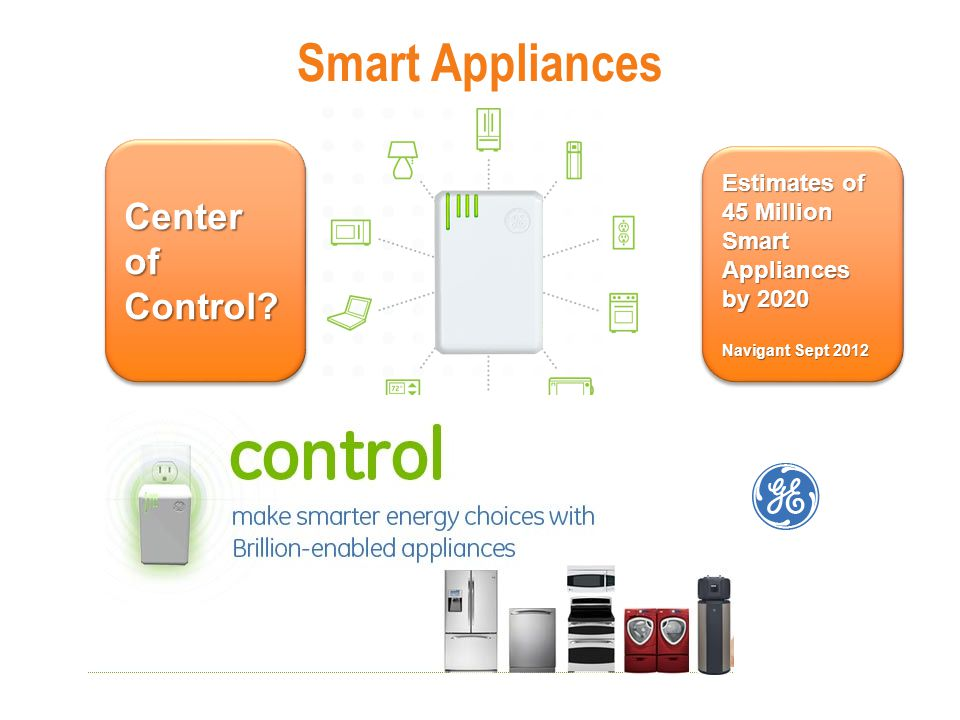 Smart Appliances Center of Control.