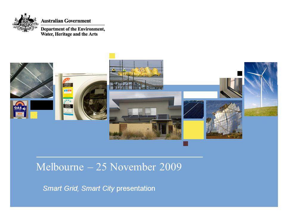 www.environment.gov.au Australian National Electricity Market Volume of Sent-out Energy (2007-08) 208,000 GWh Value of Sent-out Energy (2007-08) AU$11.1 billion (Physical Spot) Maximum NEM Demand 34,425 MW Installed Scheduled Generation 44,400 MW