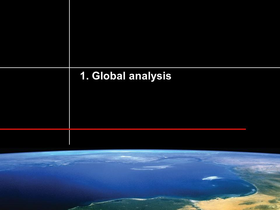 Risk and Global Change © Pascal Peduzzi, UNEP/GRID-Geneva, 2014. 1. Global analysis