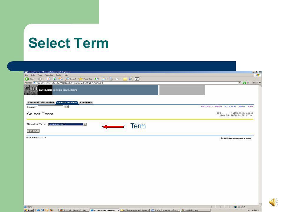 Select Term Term