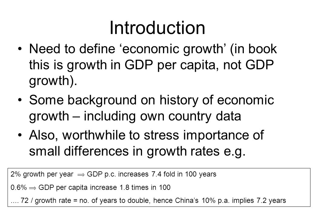 … over saving Economies can over save.