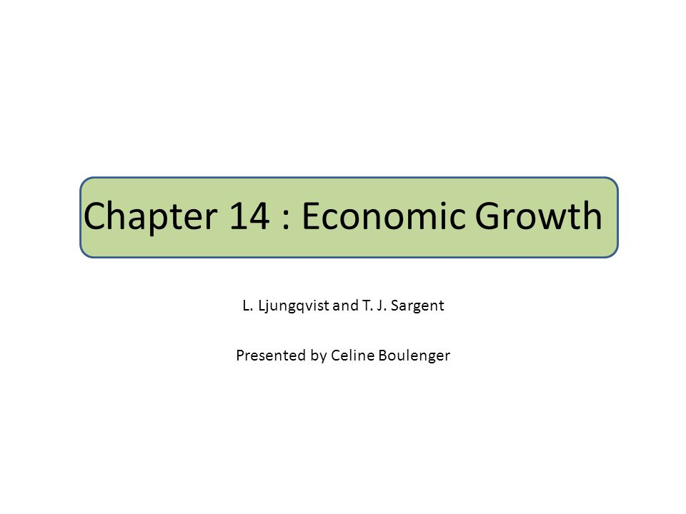 Introduction This chapter describes basic nonstochastic models of sustained economic growth.