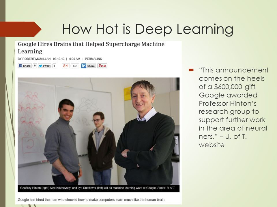 Deep Learning Basics  Sounds not new at all.Sounds familiar like you've learned in class.