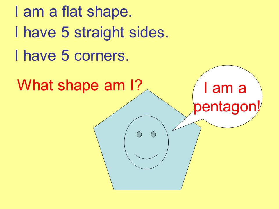 We are all quadrilaterals. We all have 4 sides. Remember just like a quad bike.