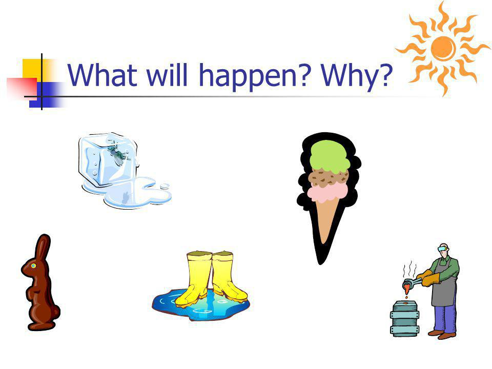 Add or Subtract Energy... When energy is added, particles move faster! When energy is taken away, particles move slower!