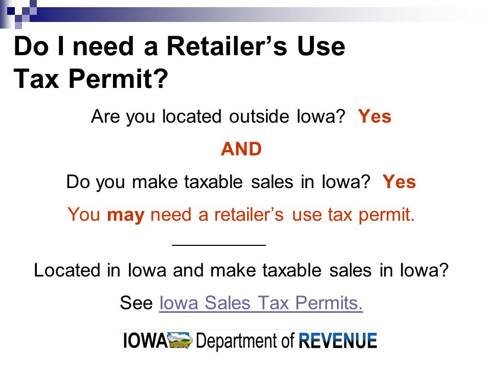 How do I know if I need a permit.