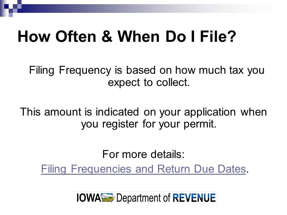 How Do I File.