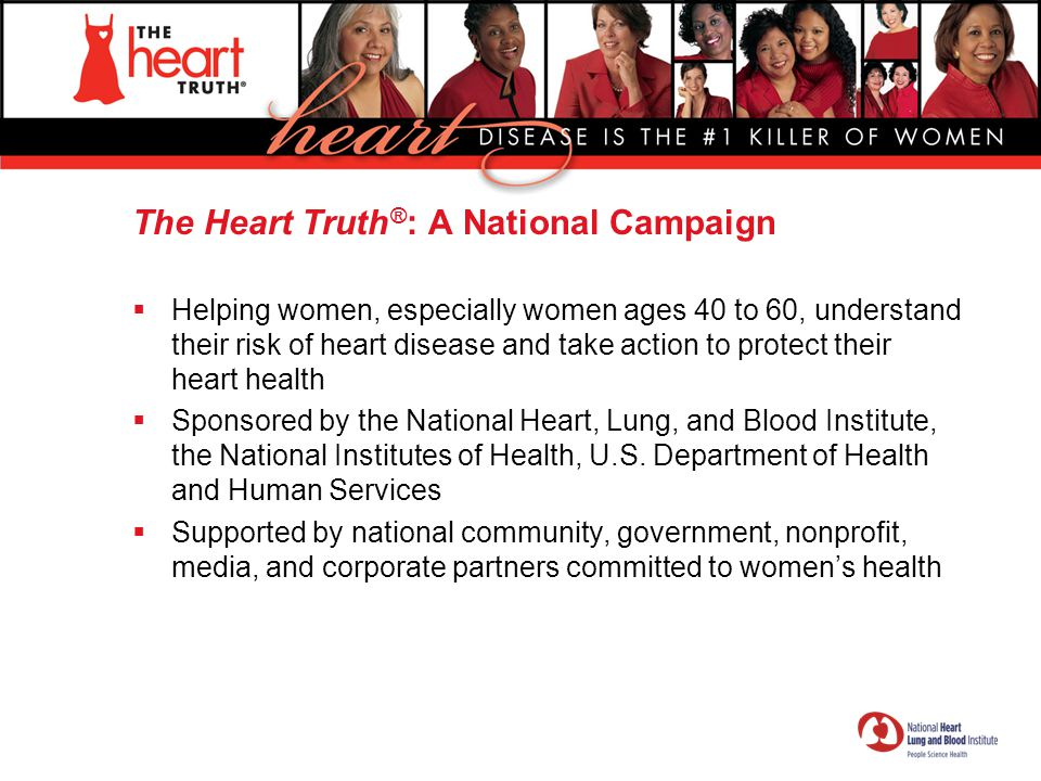 The Red Dress ® The national symbol for women and heart disease awareness.
