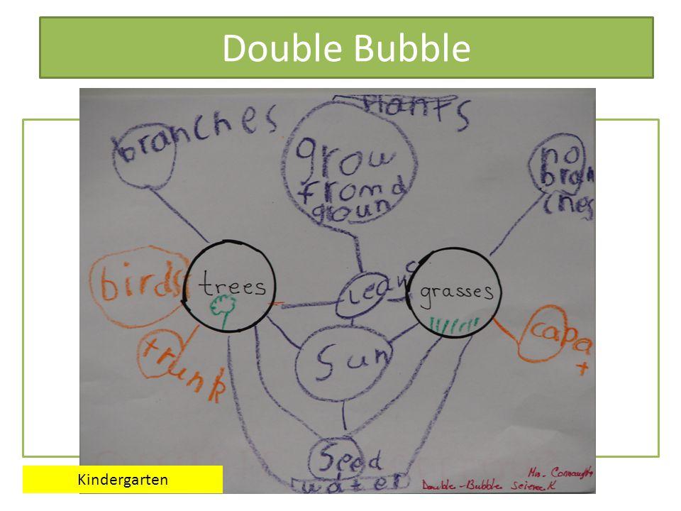Double Bubble Venn Diagram Kindergarten