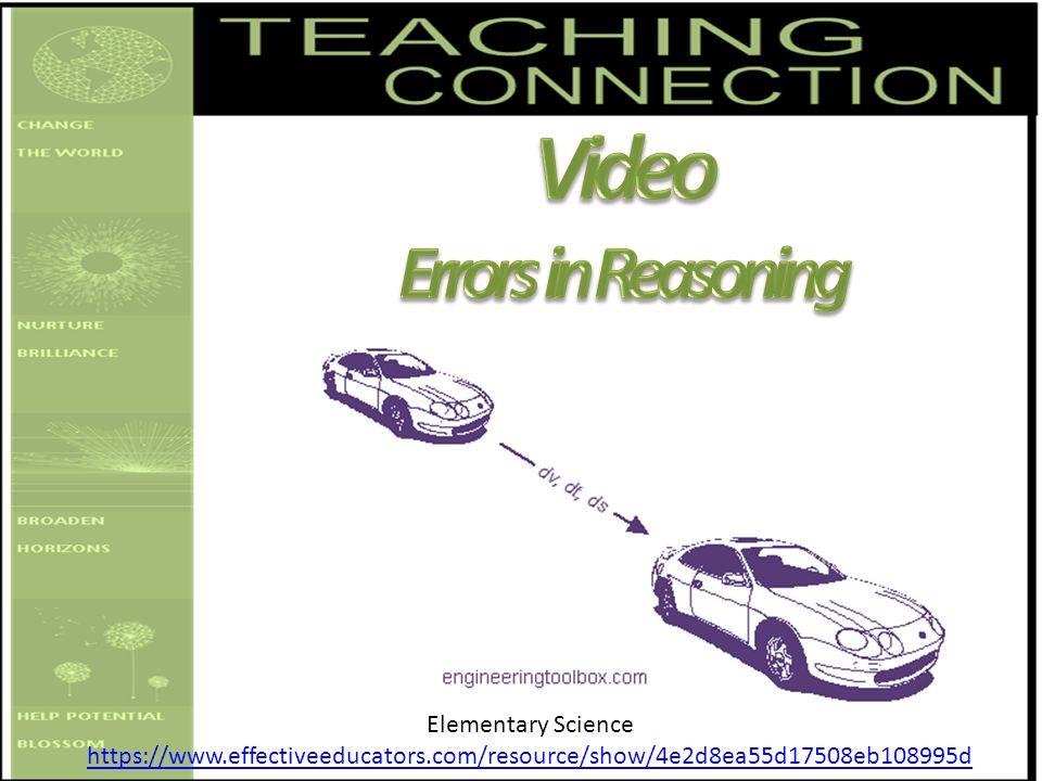 Elementary Science https://www.effectiveeducators.com/resource/show/4e2d8ea55d17508eb108995d