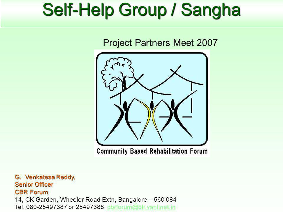 Self-Help Group / Sangha G.