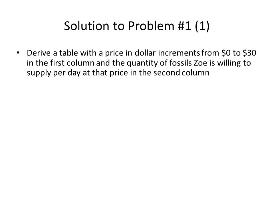 Solution to Problem #7 (3) 0 Quantity (slices/day) Price ($/slice) 0 0 ATC AVC MC 570 1.40 2.50 Wrong.