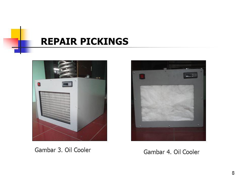8 Gambar 3. Oil Cooler Gambar 4. Oil Cooler REPAIR PICKINGS