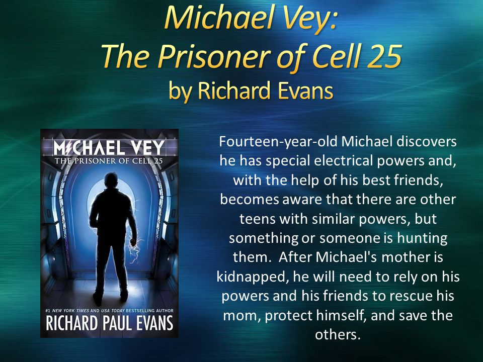 Fourteen-year-old Michael discovers he has special electrical powers and, with the help of his best friends, becomes aware that there are other teens with similar powers, but something or someone is hunting them.