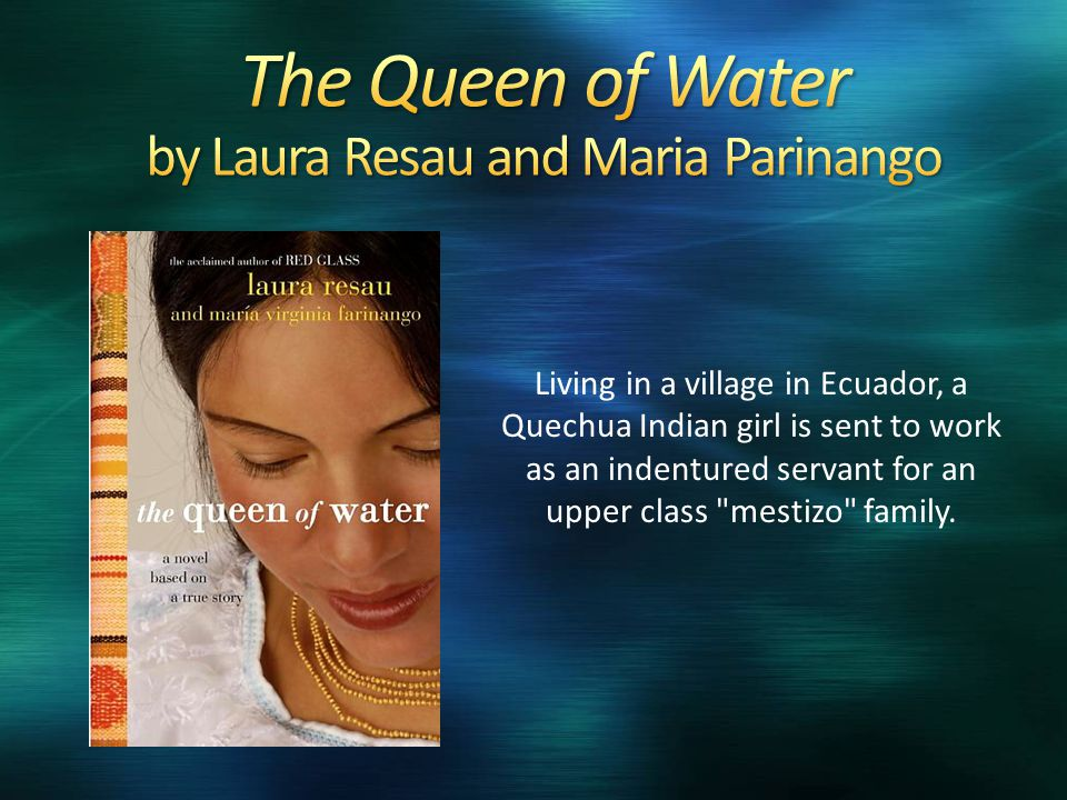Living in a village in Ecuador, a Quechua Indian girl is sent to work as an indentured servant for an upper class mestizo family.