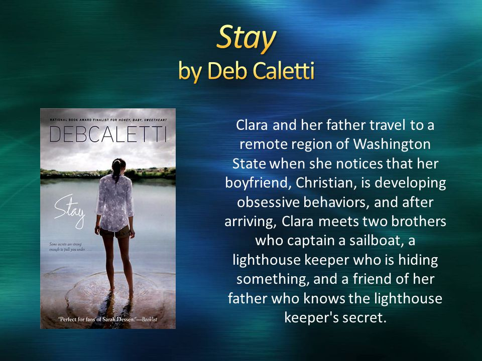 Clara and her father travel to a remote region of Washington State when she notices that her boyfriend, Christian, is developing obsessive behaviors,
