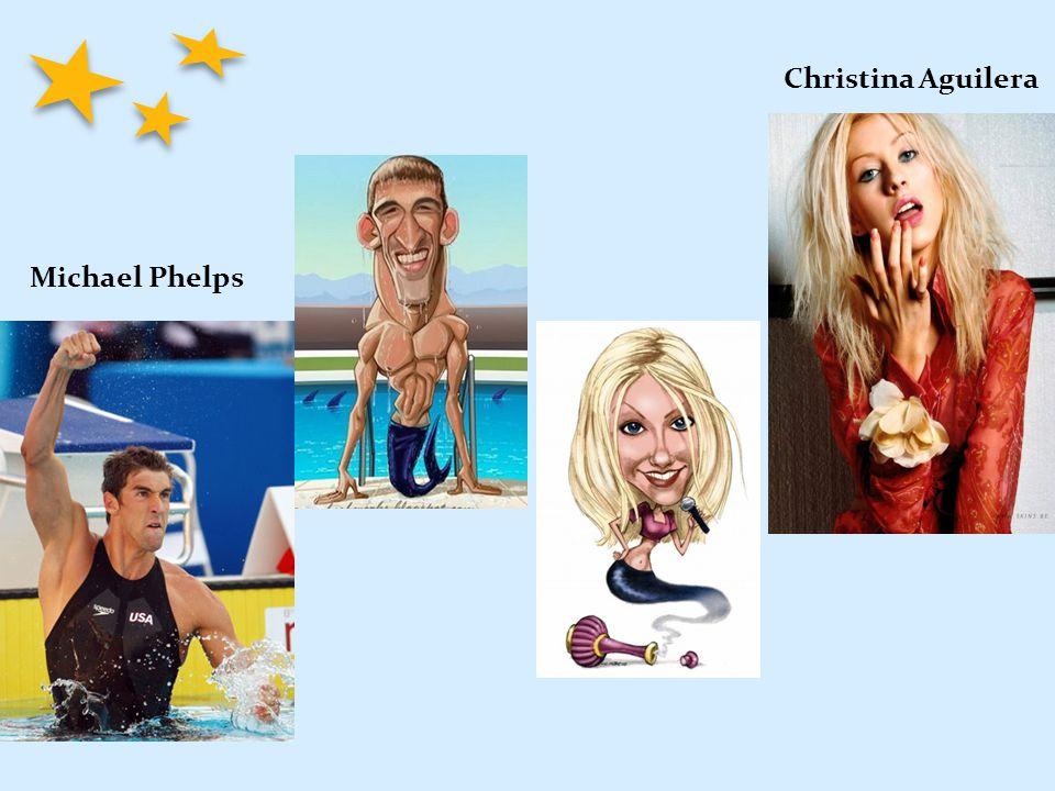 Michael Phelps Christina Aguilera