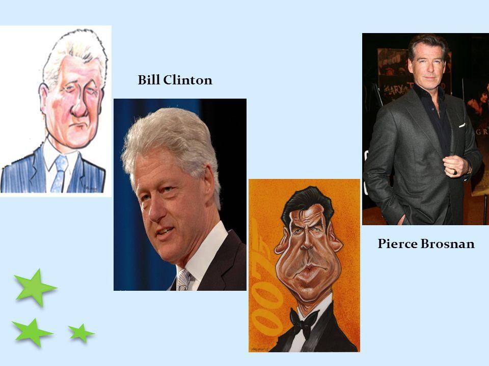 Pierce Brosnan Bill Clinton