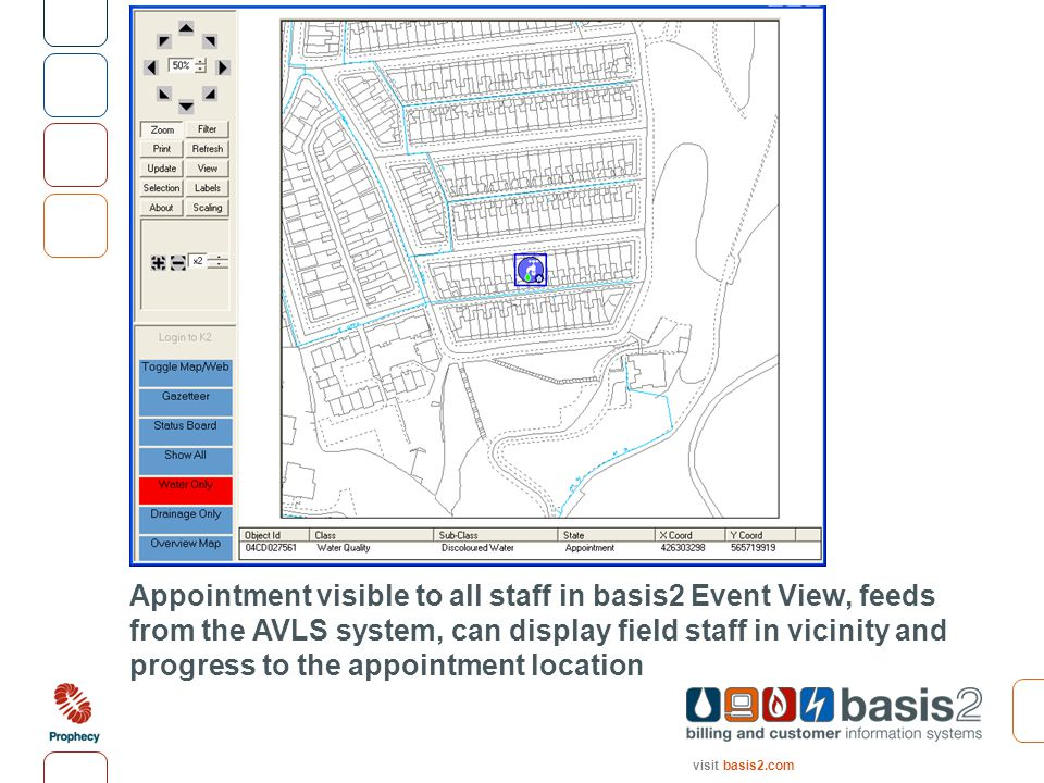 visit basis2.com Appointment visible to all staff in basis2 Event View