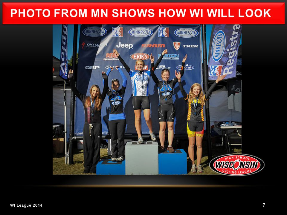 7 WI League 2014 PHOTO FROM MN SHOWS HOW WI WILL LOOK