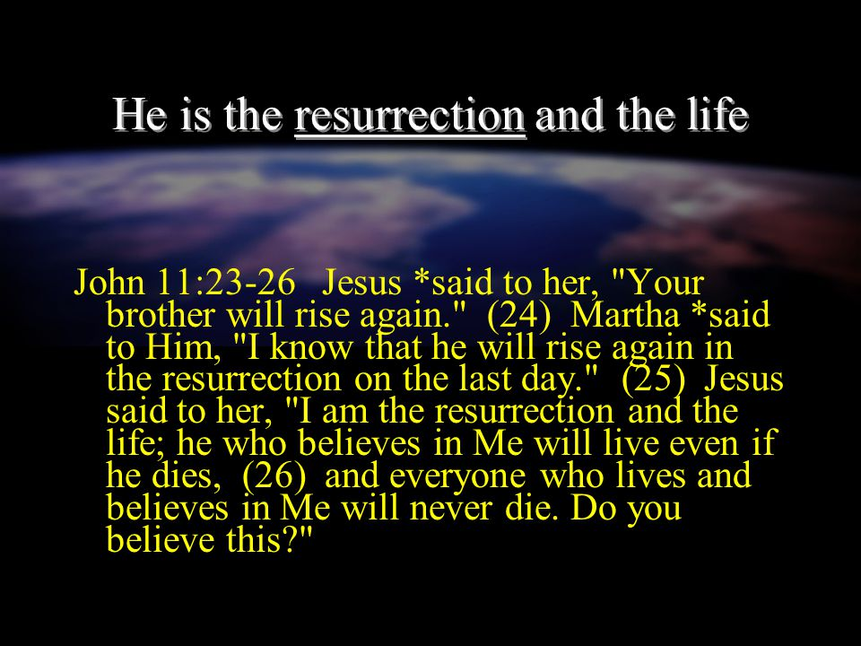 The life he gives is secure John 10:27-28