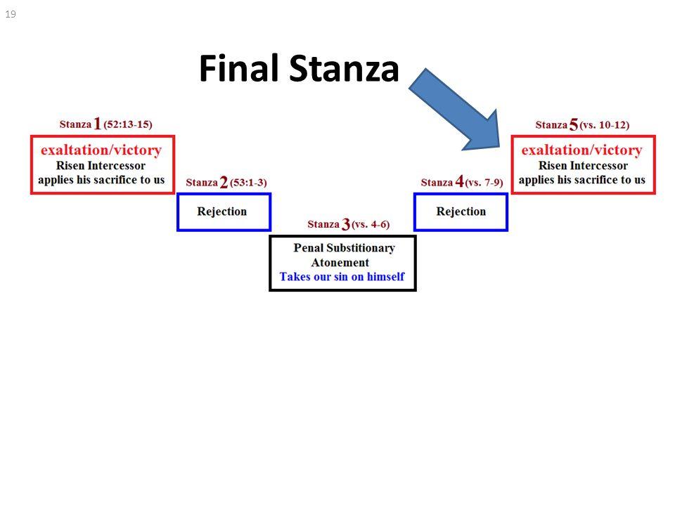 Final Stanza 19