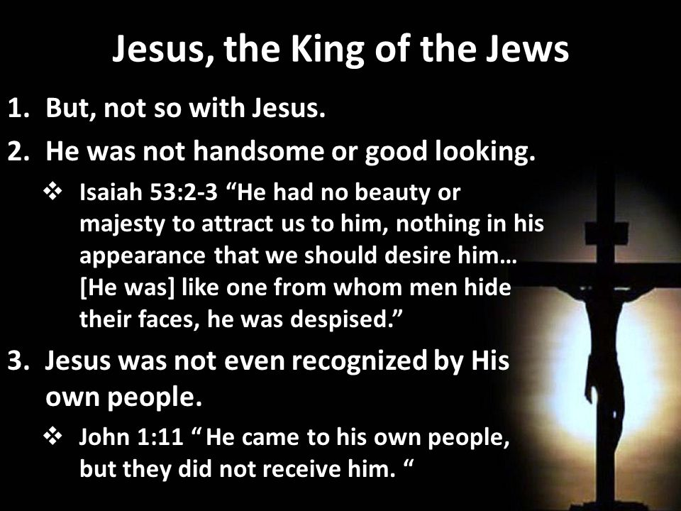 The King and His Cross 8.And then Jesus said, It is finished, and bowed his head and gave up his spirit.