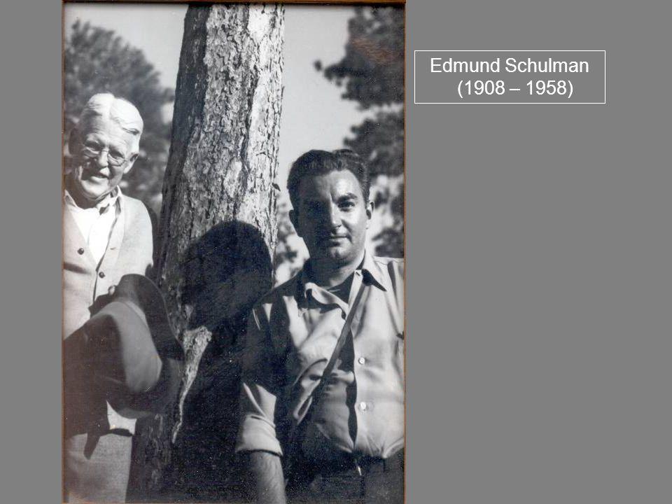 Edmund Schulman (1908 – 1958)